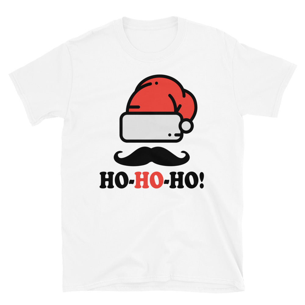 Ho Ho Ho Mens Short-Sleeve T-Shirt - Crazy About Tshirts