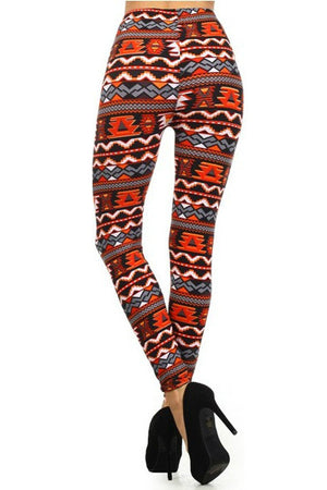 Lava Aztec Leggings