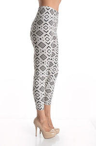Arrow Pattern Leggings