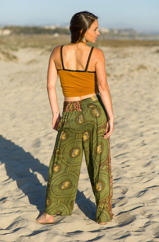 High Thai Elephant Boho Pants
