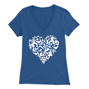 Yoga Love - V-Neck Tee