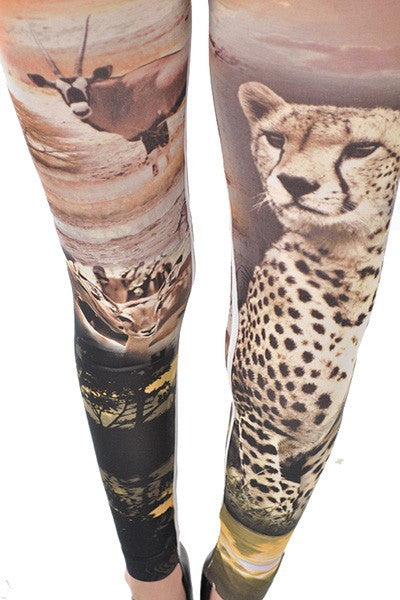 Cheetah Sublimation Leggings