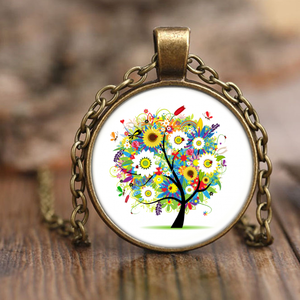 Hippies Hope Tree of Life Necklace