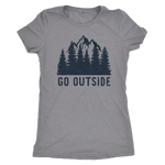 Go Outside - Women's Tee