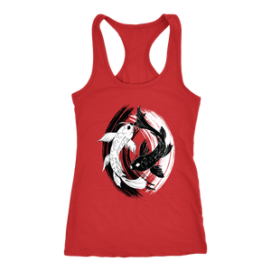 Koi Fish Yin Yang - Tank Top