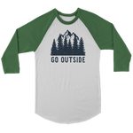 Go Outside - Raglan Tee