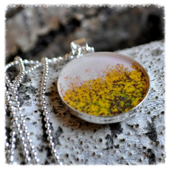 Handmade Lost in the Canola Necklace