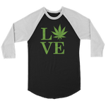LOVE the Leaf - Raglan Tee