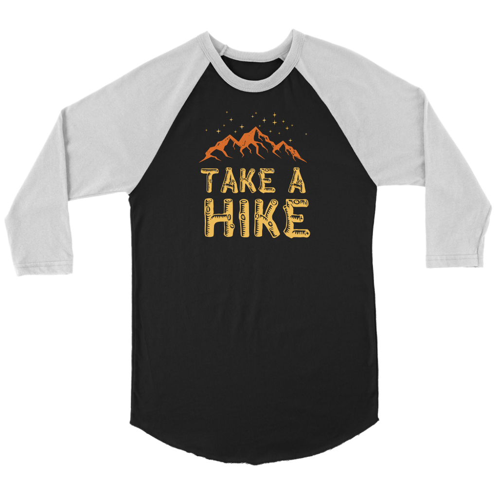 Take A Hike - Raglan Tee