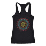 Tribal Flower Mandala - Tank Top