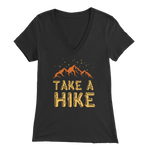 Take A Hike - V-Neck Tee