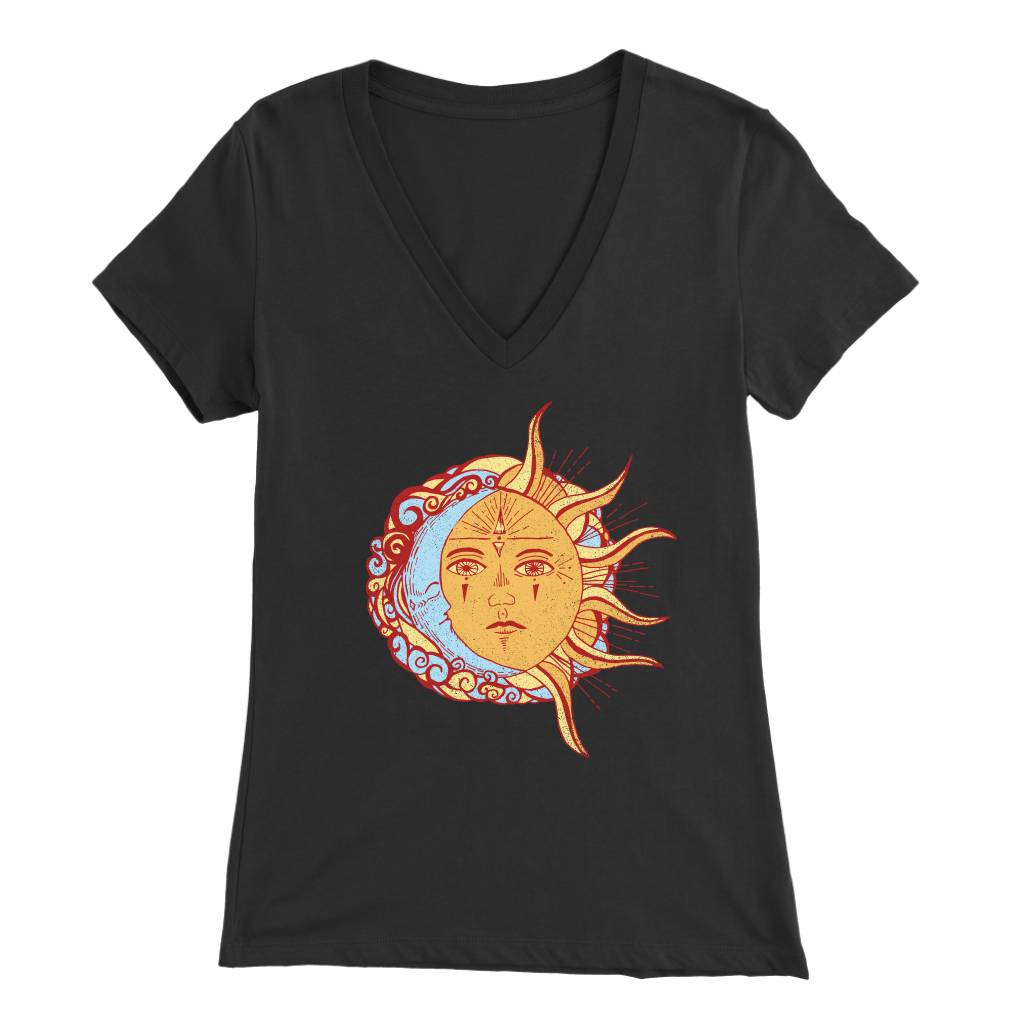Celestial Guardians - V-Neck Tee