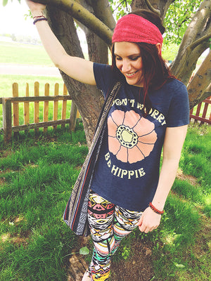 Don't Worry, Be Hippie - Women's Tee
