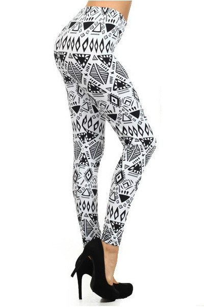 Aztec Triangle Leggings