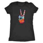 Tie Dye Peace Sign - Women's Tee