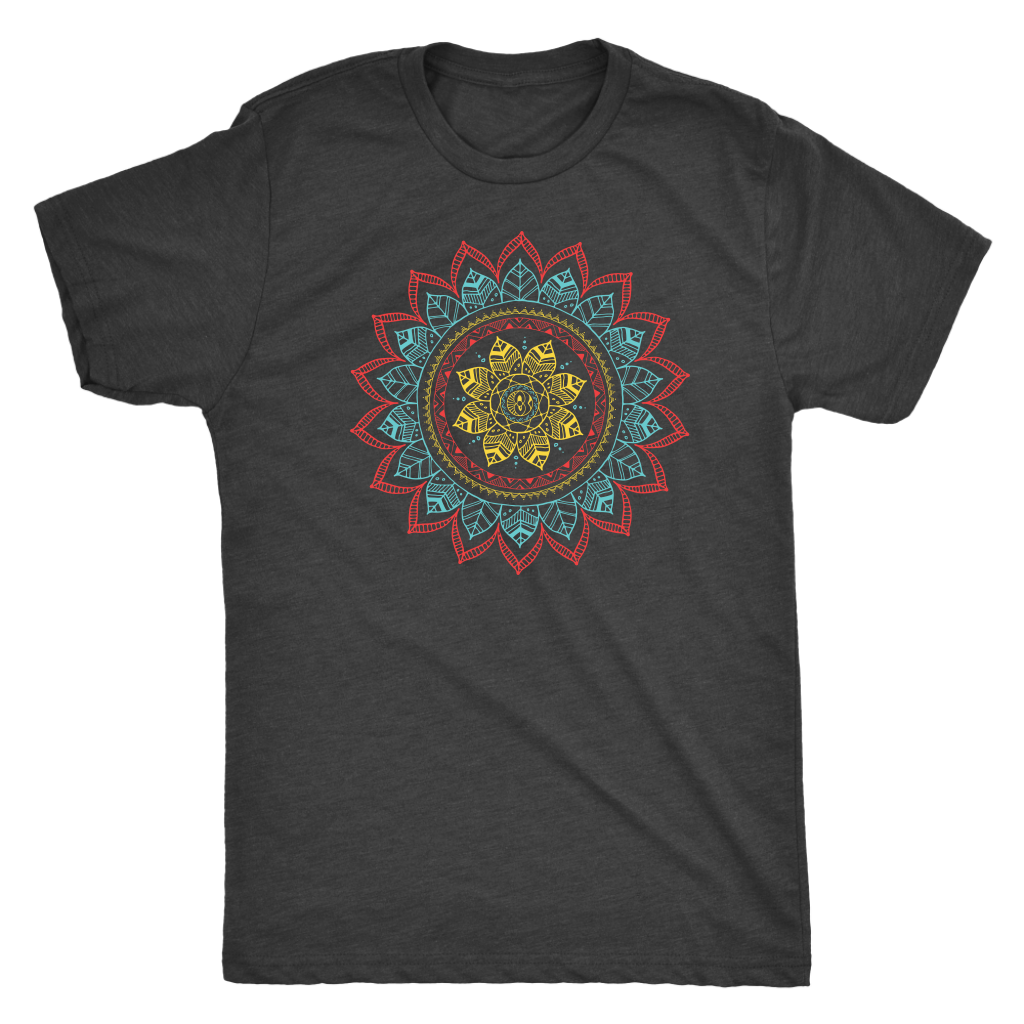 Tribal Flower Mandala - Unisex Tee