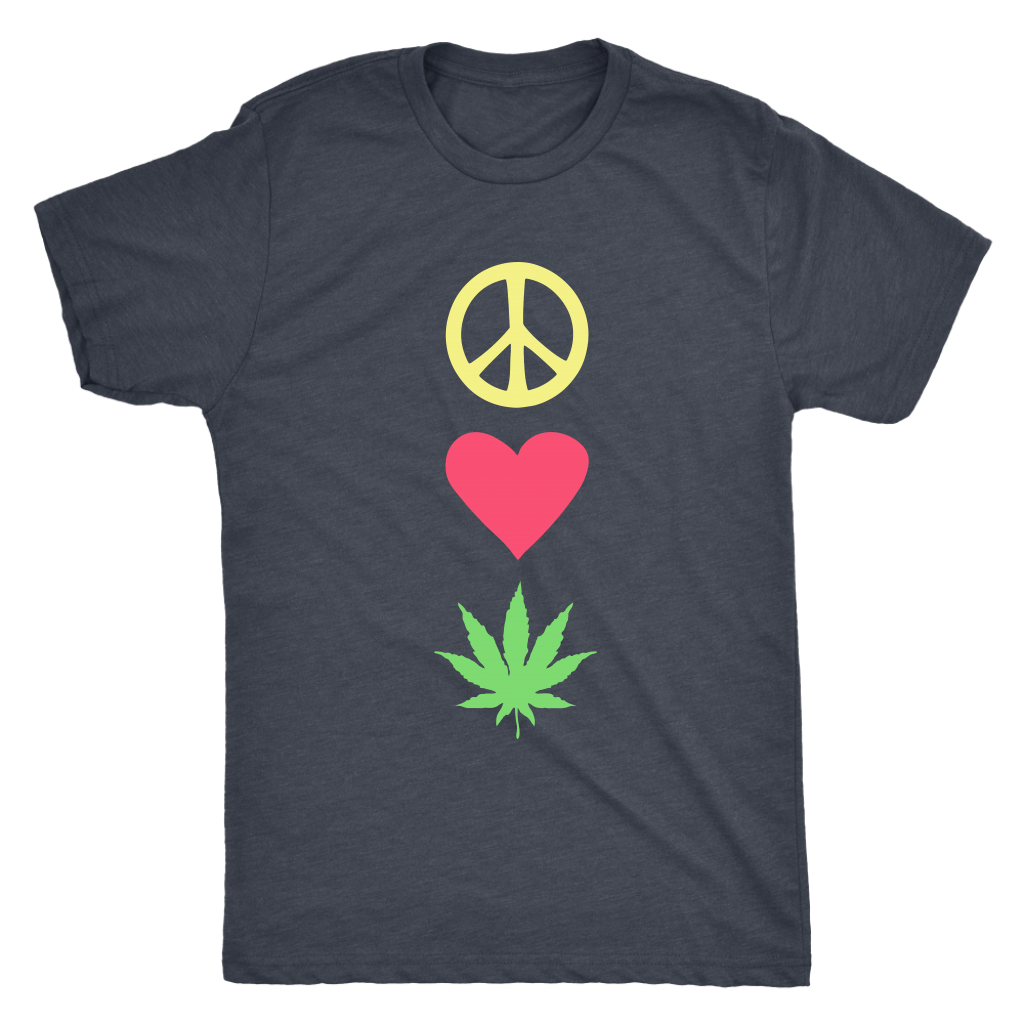 Peace Love Pot - Unisex Tee
