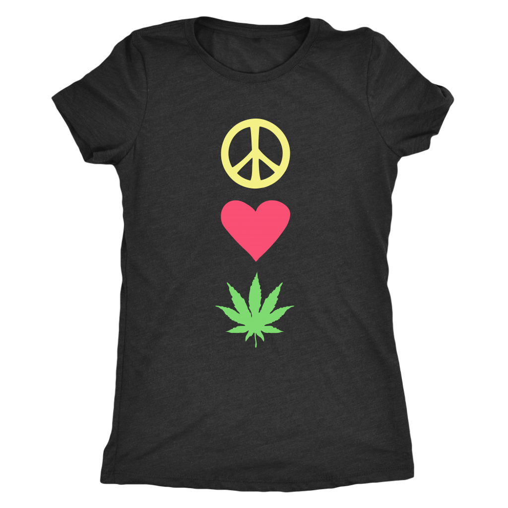 Peace Love Pot - Women's Tee