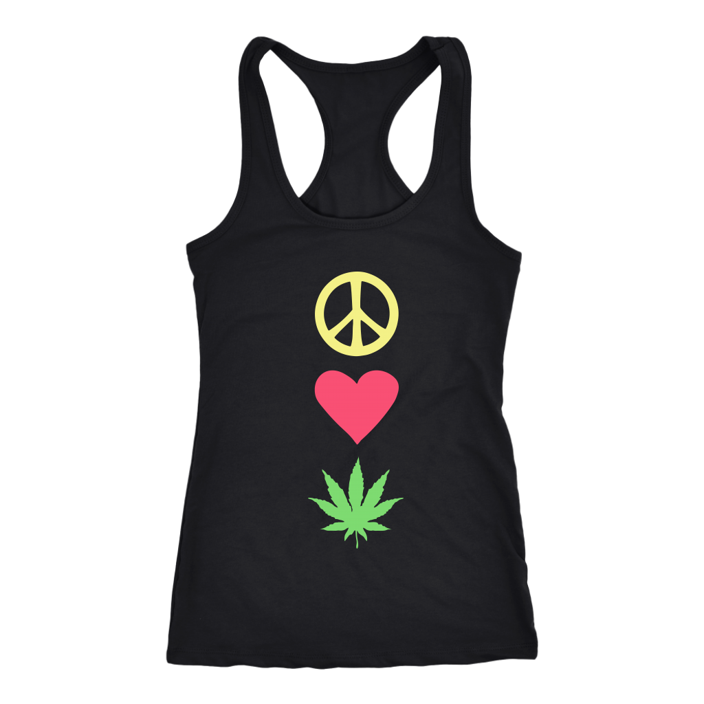 Peace Love Pot - Tank Top