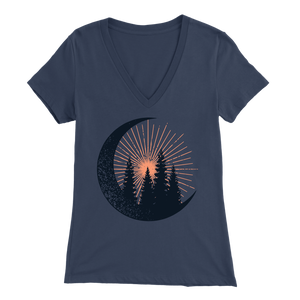 Forest Dawn - V-Neck Tee