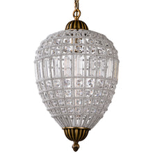 Load image into Gallery viewer, Retro Royal Cooper Crystal Chandelier