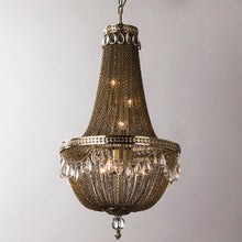 Load image into Gallery viewer, Retro Princess Clara Fringed Chain Chandelier