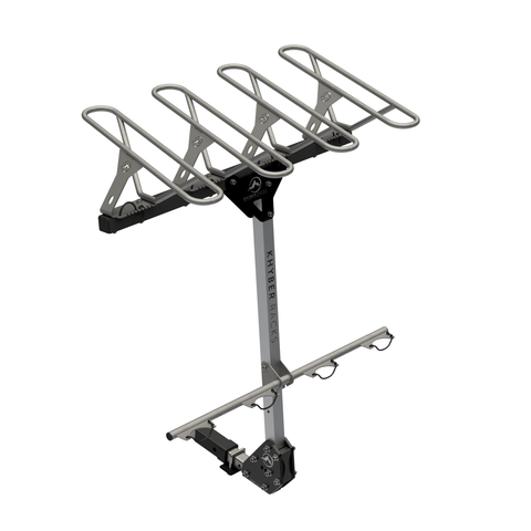 Khyber Racks V2 Four Pack Hitch Mount Bike Rack