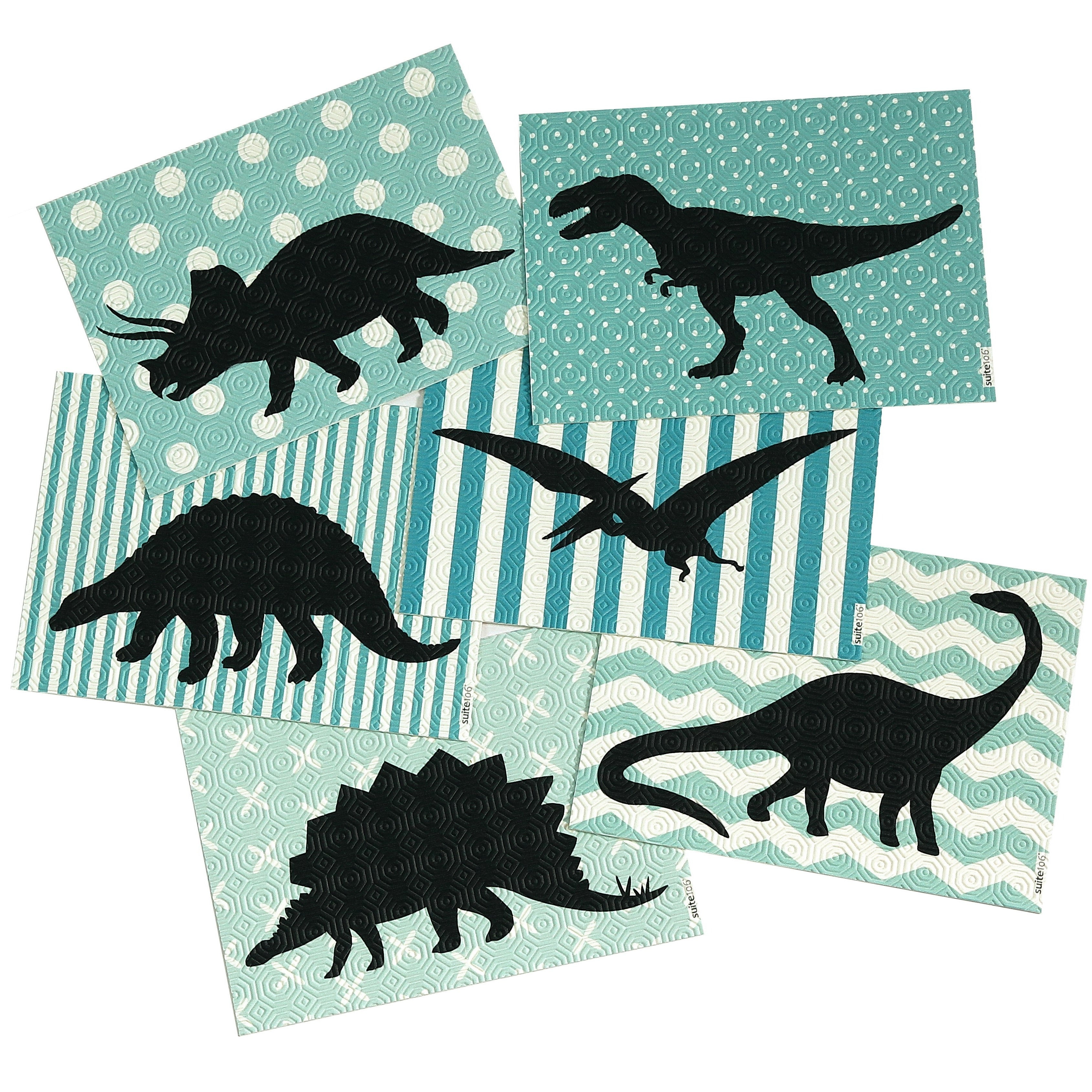 Dinosaurs Dinner Placemats - SET OF SIX image