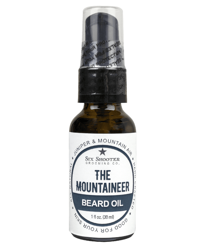 The Mountianeer Beard Oil
