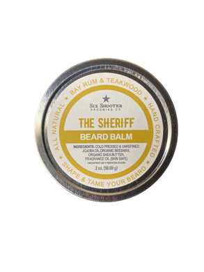 The Sheriff Beard Balm