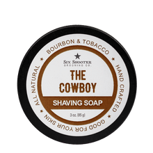 Load image into Gallery viewer, The Cowboy Shaving Soap