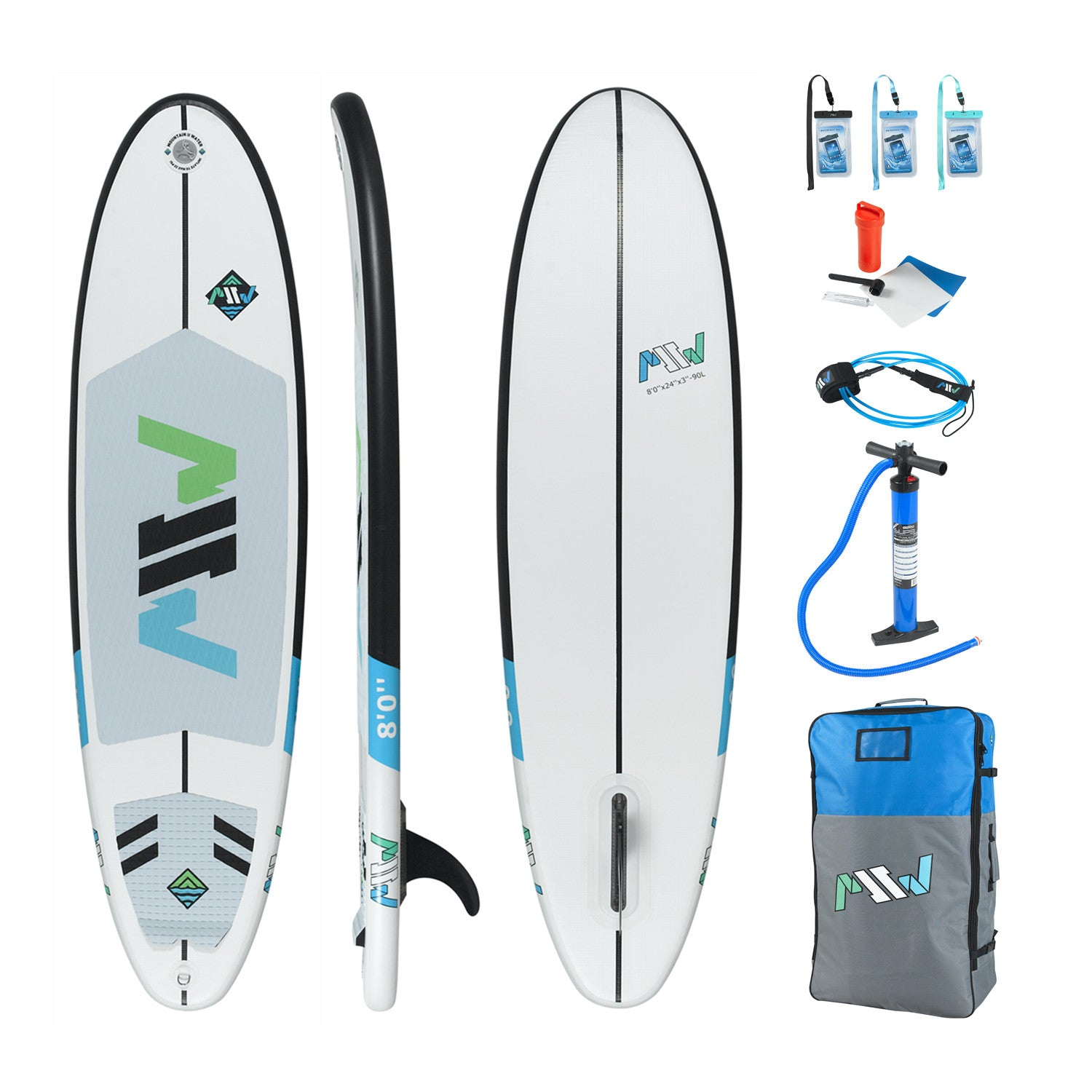 "8'0"" Inflatable Surfboard"