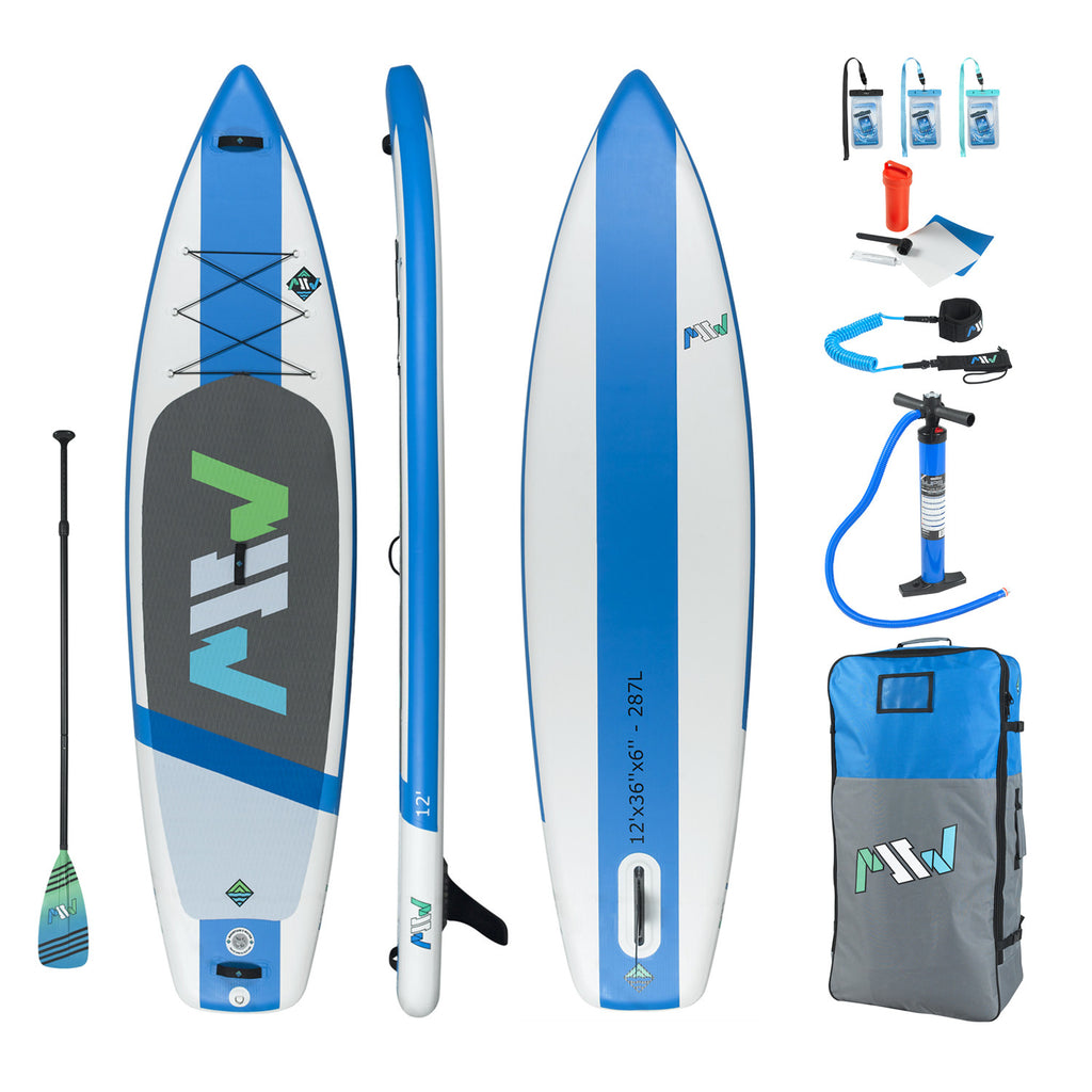 12' Inflatable SUP - All-around cruising and stable board