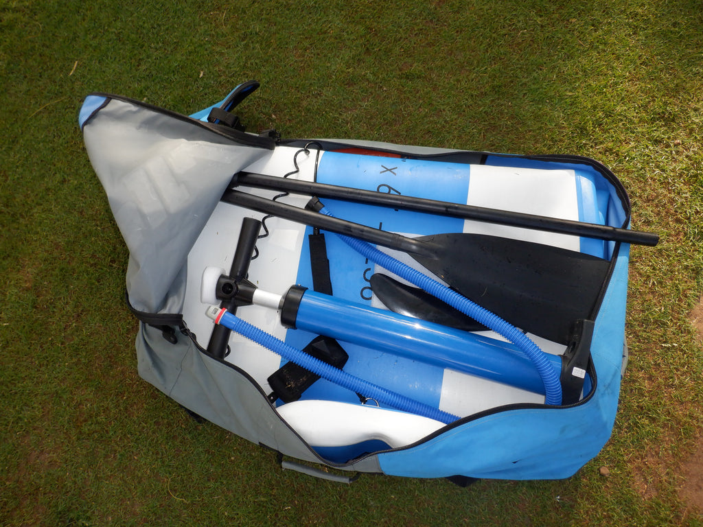 "12'6"" Inflatable Performance SUP - Cruising, performance or racing"
