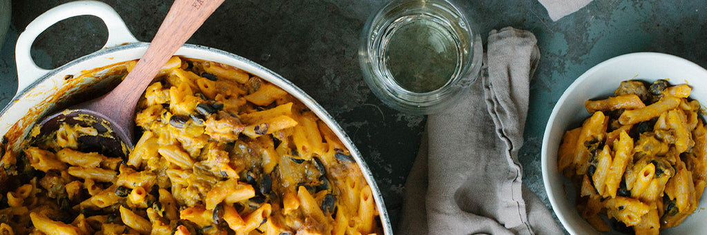 Roasted Red Kuri Baked Pasta