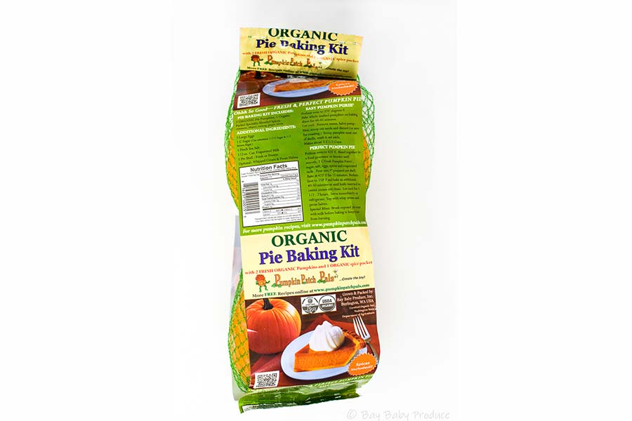 Organic Pumpkin Pie Baking Kit