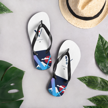 Load image into Gallery viewer, Japan Themed Vechain Flip Flops