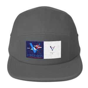 5 Panel Vechain Japan Themed Hat