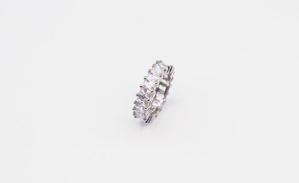 Emerald Cut Promise Ring