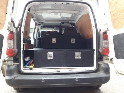 Renault Kangoo Double Storage Draws