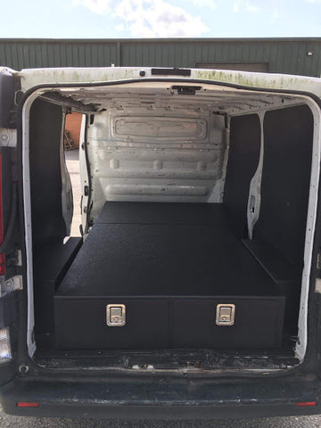 Ford Transit Custom Double Storage Draw