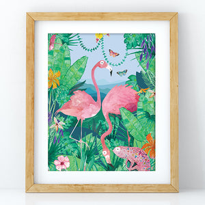 Flamingo - Decal Print