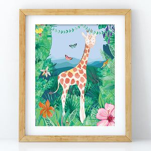 Giraffe - Decal Print