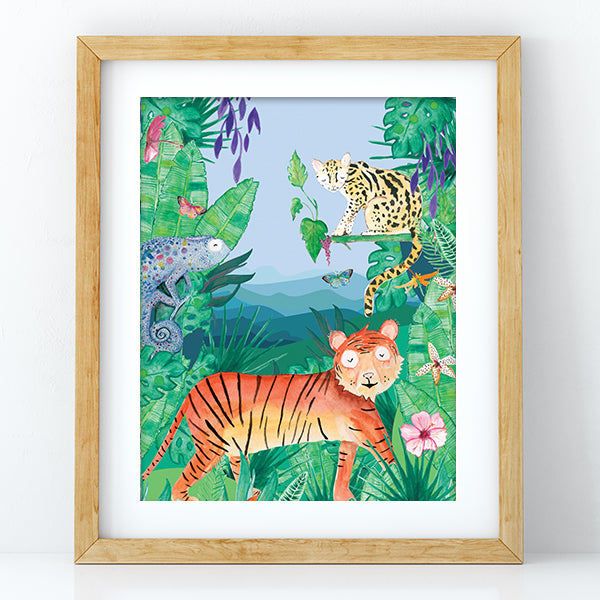Tiger - Decal Print