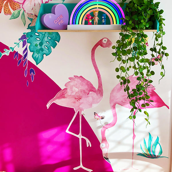 Jungalow Flamingo Set