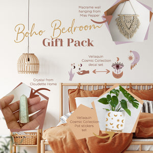 Gift Set - Boho Bedroom -Cosmic Collection