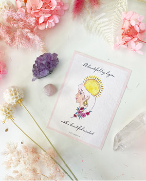 Manifesting your dream life - PINK- Affirmation Set