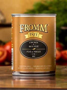 Fromm Gold Chicken and Rice Pate Canned Dog Food 12 oz.