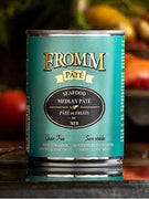 Fromm Gold Grain Free Seafood Medley Pate Canned Dog Food 12 oz.