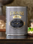 Fromm Beef, Chicken, and Oats Pate Canned Dog Food 12 oz.
